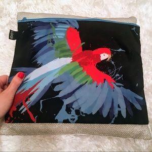 LOQI Anima - Parrot Zip Pocket (Maxi)